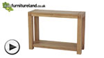 Watch Alto Solid Oak Console / Hallway Table video