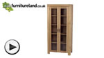 Watch Alto Solid Oak Glazed Dresser video
