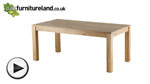 Watch Andorra Solid Oak 6ft x 3ft Dining Table video