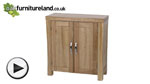 Watch Andorra Solid Oak Large CD Storage video