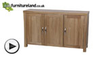 Watch Andorra Solid Oak Large Sideboard video