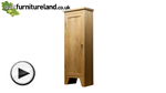 Watch Dovedale CD Storage Cabinet video