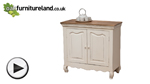 Watch French Shabby Chic Solid Mango Small Sideboard video