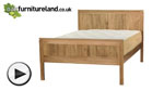 Watch Galway Solid Oak 5ft King-Size Bed video