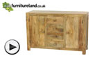 Watch Mantis Light Solid Mango Large Sideboard video
