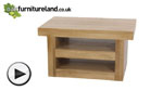 Watch Nero Solid Oak TV + DVD Stand video