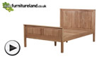 Watch Rivermead Natural Solid Oak 5ft King-Size Bed video