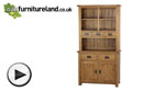 Watch Original Rustic Solid Oak Oak Dresser video