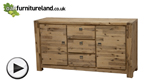 Watch Saigon Solid Acacia Large Sideboard video