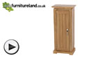 Watch Tokyo Solid Oak CD Storage Unit video