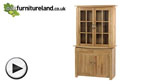 Watch Tokyo Solid Oak Glazed Dresser video